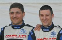 Marco Signor, Patrick Bernardi (Ford Focus WRC #1, Sama Racing)