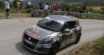 Claudio Vallino, Tiziana Desole (Suzuki Swift Sport #103)