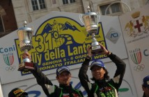 Paolo Porro, Anna Tomasi (Ford Focus WRC #7, Bluthunder Racing Italy)
