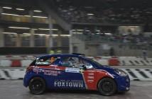 Alex Vittalini, Sara Tavecchio (Citroen DS3 R3T #6, Bluthunder Racing Italy)