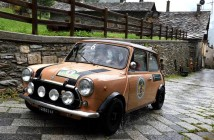 Aosta_Gran_San_Bernardo_2015_Rimondi Fava  su Mini Cooper terzo assoluto (Custom)