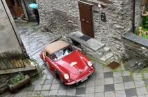 Aosta_Gran_San_Bernardo_2015_Vigada Bagnasco Porsce 356B cabrio (Custom)