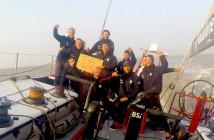 Maserati VOR70_Giovanni Soldini e l'equipaggio partiti da San Francisco arrivano a Shanghai col tempo record di_21 giorni_19 ore_32 minuti_54 secondi_