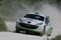Mauro Trentin, Alice De Marco (Peugeot 207 S2000 #12, Movisport)