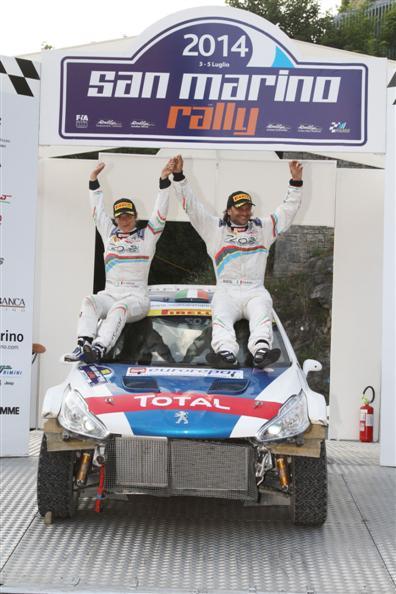Paolo Andreucci, Anna Andreussi vincitori del 42° Sanmarino Rally;