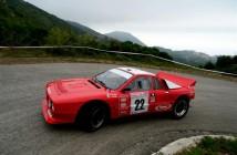 Paolo Baggio  Flavio Zanella (Rally Club Sandro Munari  Lancia Rally 037 # 22)