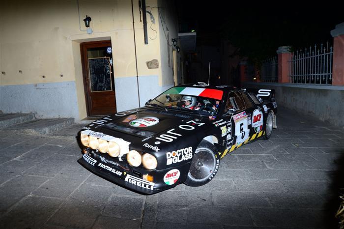 Enrico Brazzoli  Paola Valmassoi (Winners Rally Team  Lancia Rally 037 # 5)
