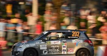 Sergio Vallino, Tiziana Desole (Suzuki Swift R1B #202, Meteco Corse Srl)