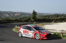 Giandomenico Basso, Lorenzo Granai (Ford Fiesta R5 LDI R5 #2, Movisport)