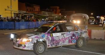 Gianmarco Donetto, Marco Pagani (Mitsubishi Lancer EVO IX N4 #5, ASD Sport Management)