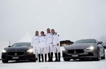 St. Moritz_04 Maserati Team with Maserati Ghibli and Maserati Quattroporte (Custom)