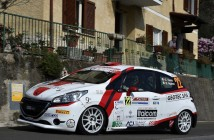 Giuseppe Testa, Emanuele Inglesi (Peugeot 208 R2 #22, Winners Rally Team)