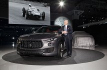 Maserati Levante, debutto USA, salone di New York 2016 - Harald Wester, CEO Maserati (Custom)