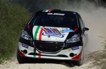 Giorgio Bernardi, Enrico Ghietti (Peugeot 208 R R2B #44, Sc Meteco Corse S.R.L.)