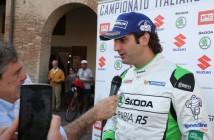 Umberto Scandola (Skoda Fabia R5 #3, Scuderia Car Racing Ssd)