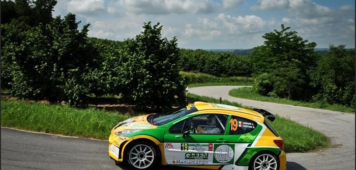 Sondaggio pilota Kaleidosweb, partenza sprint di Luca Airone al Rally di Alba