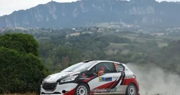 Giorgio Bernardi, Andrea Casalini (Peugeot 208 R R2B #35, Meteco Corse)