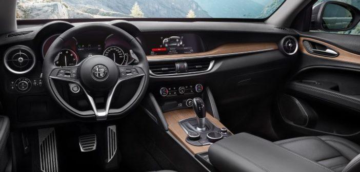 Alcantara e Alfa Romeo Stelvio Quadrifoglio