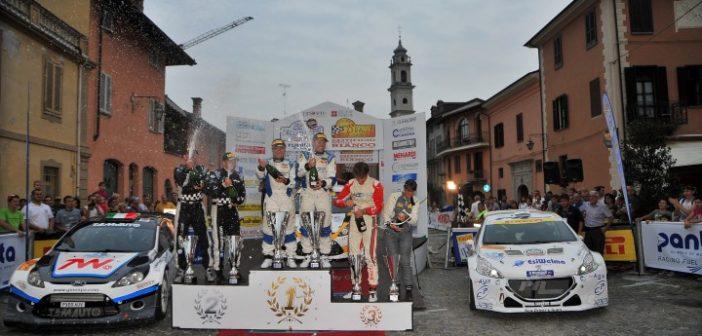 Podio rally Valli Cuneesi 16 foto Magnano (Custom)