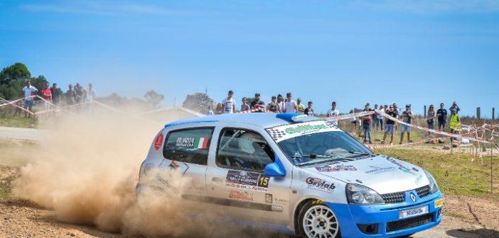 Debutto stagionale per la Scuderia Casarano Rally Team