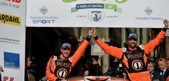 """Simone Campedelli: """"La mia prima vittoria nel C.I.R. al Rally Il Ciocco 2017"""""""