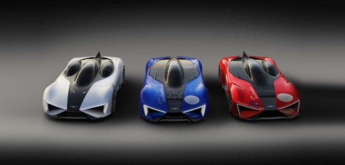 """Techrules presenta il design di produzione della supercar """"Ren"""""""