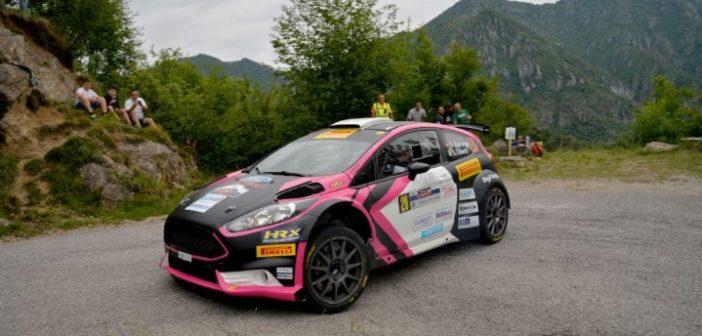 Stefano Baccega, Luca Oberti (Ford Fiesta R5 #20, Giesse Promotion)