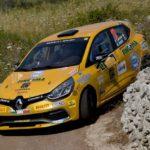 Riccardo Canzian, Matteo Nobili (Renault Clio R3T #12, Winners Rally Team)