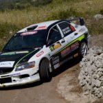 Mattonen, Giulia Taglienti (Mitsubishi Lancer Evo IX #19, Winners Rally Team)