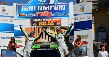 Umberto Scandola, Guido D Amore (Skoda Fabia R5 #3, Car Racing)