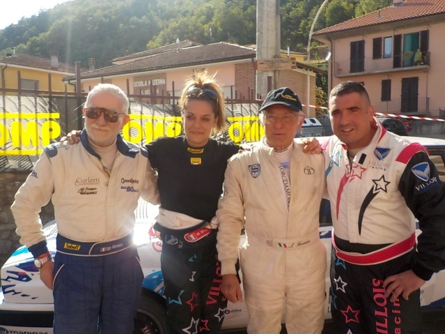 1 rally vesimesi storico rudi mao francesca aurilia for Aggiunta in cima al garage