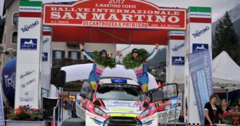 Marco Signor, Patrick Bernardi (Ford Fiesta WRC #3, Sama Racing)