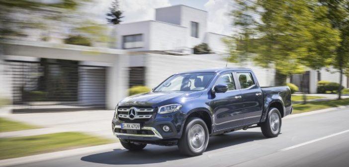 Mercedes-Benz Classe X ottiene cinque stelle al test EuroNCAP per la sicurezza
