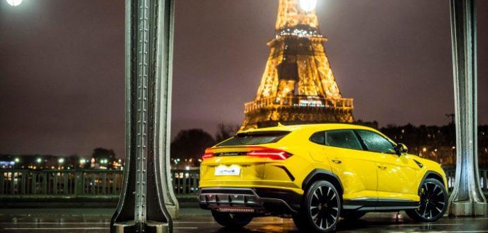 Lamborghini inaugura a Parigi il suo quinto showroom francese