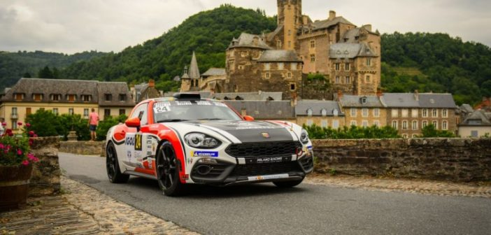 Al via l'Abarth 124 rally Selenia International Challenge con i campionati belga, francese e spagnolo