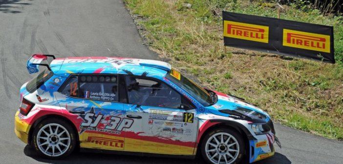 Rally della Lanterna, il francese Antony Puppo regala il podio alla Lanterna Corse Rally Team