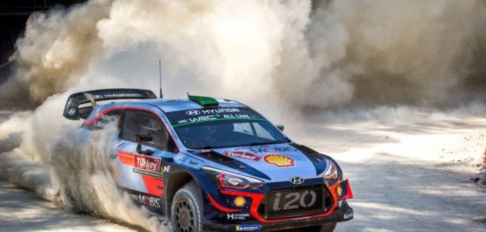 Hyundai Motorsport conquista il decimo podio stagionale al Rally di Turchia