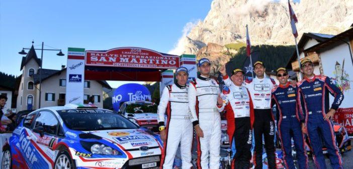 La Michelin Rally Cup incorona sua maestà Stefano Albertini al Rallye San Martino di Castrozza