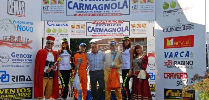 Rally Storico Carmagnola. Successo di pubblico e iscritti; sfortunati i piloti carmagnolesi