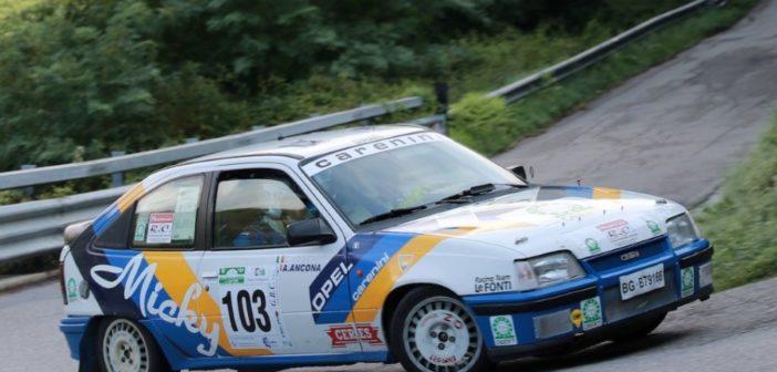Ancona e Salvucci presenti al Rally Trofeo Maremma con la Opel Kadett GSI