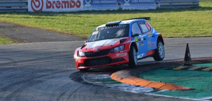 Marco Gianesini soddisfatto del suo Monza Rally Show
