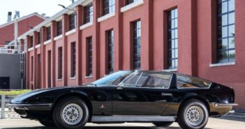 Maserati ha celebrato il 50° anniversario della consegna del primo esemplare della coupé Indy