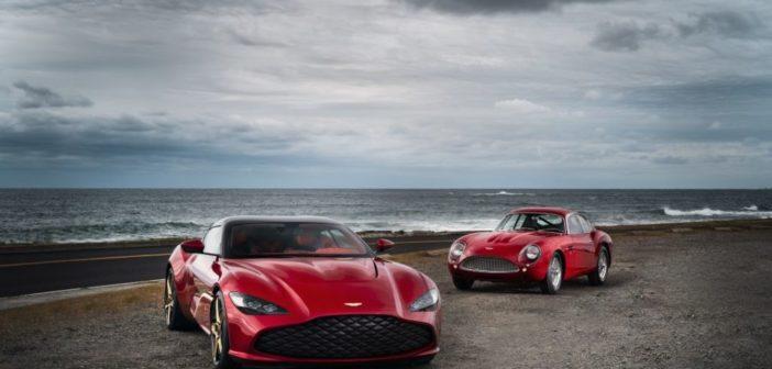 La DBZ Centenary Collection Aston Martin debutta a livello mondiale al primo Audrain's Concours a Newport
