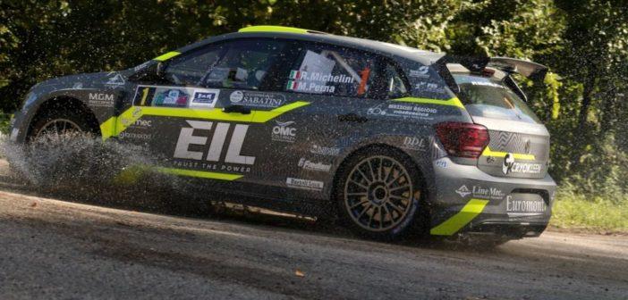 """Un ottobre """"record"""" per Rudy Michelini: dopo la vittoria al Rally Città di Pistoia cerca il bis al Trofeo Maremma"""
