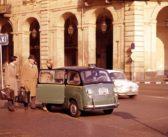 La mitica Fiat 600 Multipla conquista Londra