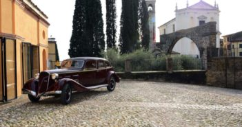 """""""Soffio di Satana"""". La storica Alfa Romeo 6C 2300 T di d'Annunzio torna al Vittoriale dopo oltre settant'anni"""