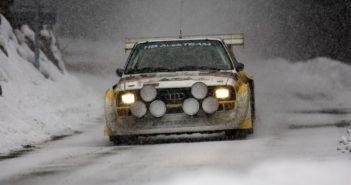 Quattro anelli, quattro ruote motrici, 40 anni di Audi quattro
