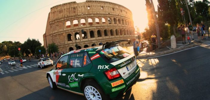 Aprono oggi le iscrizioni per il Rally di Roma Capitale 2020