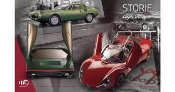 """""""Storie Alfa Romeo"""", settima puntata – La rivoluzione di forme e colori: 33 Stradale, Carabo e Montreal"""