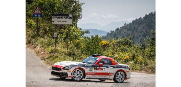 Corse di metà estate: Abarth in gara nel weekend di metà agosto sia nei rally che in pista